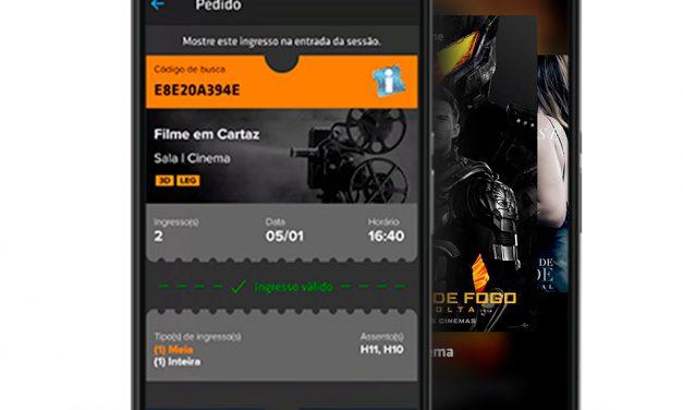 Ingresso.com desenvolve entrada de cinema no celular com holograma digital