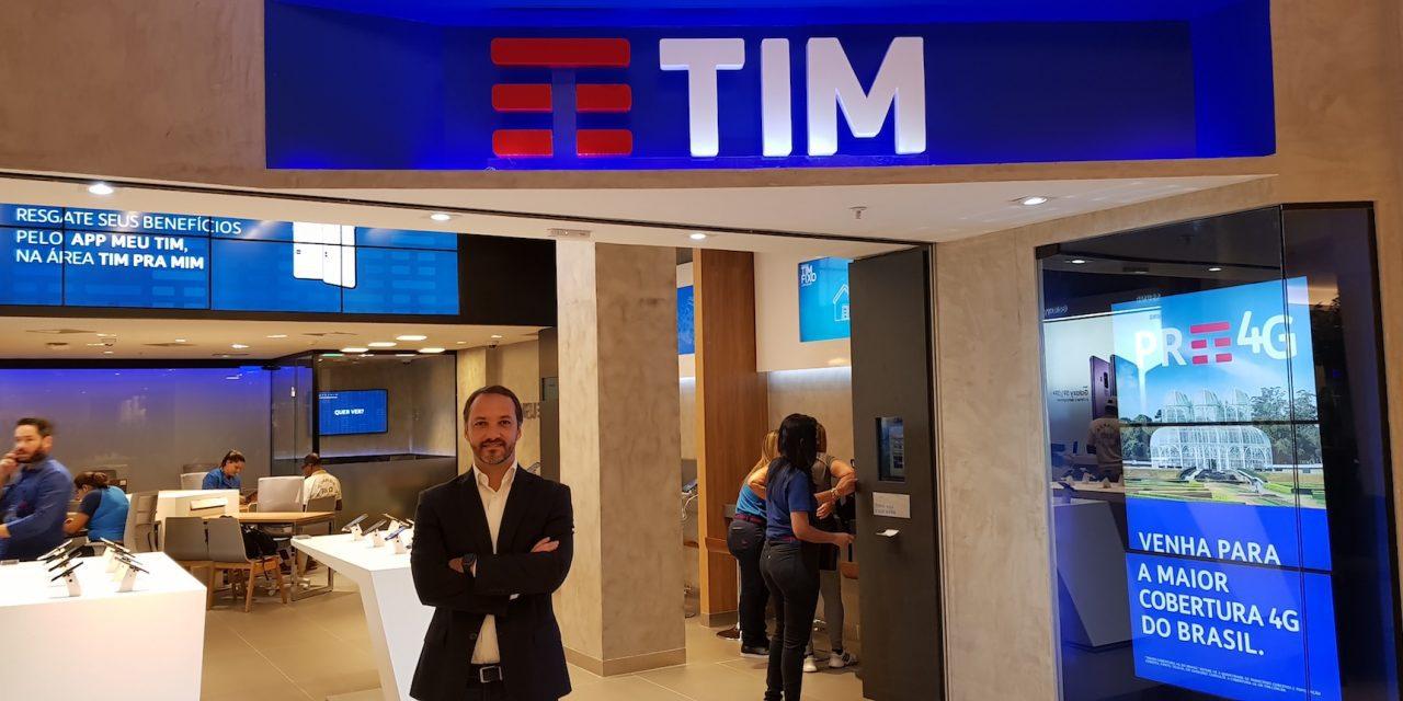 Loja digital da TIM registra aumento de 15% em faturamento