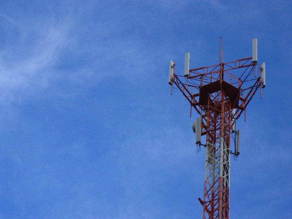 antena; rede móvel; Pátria; Highline