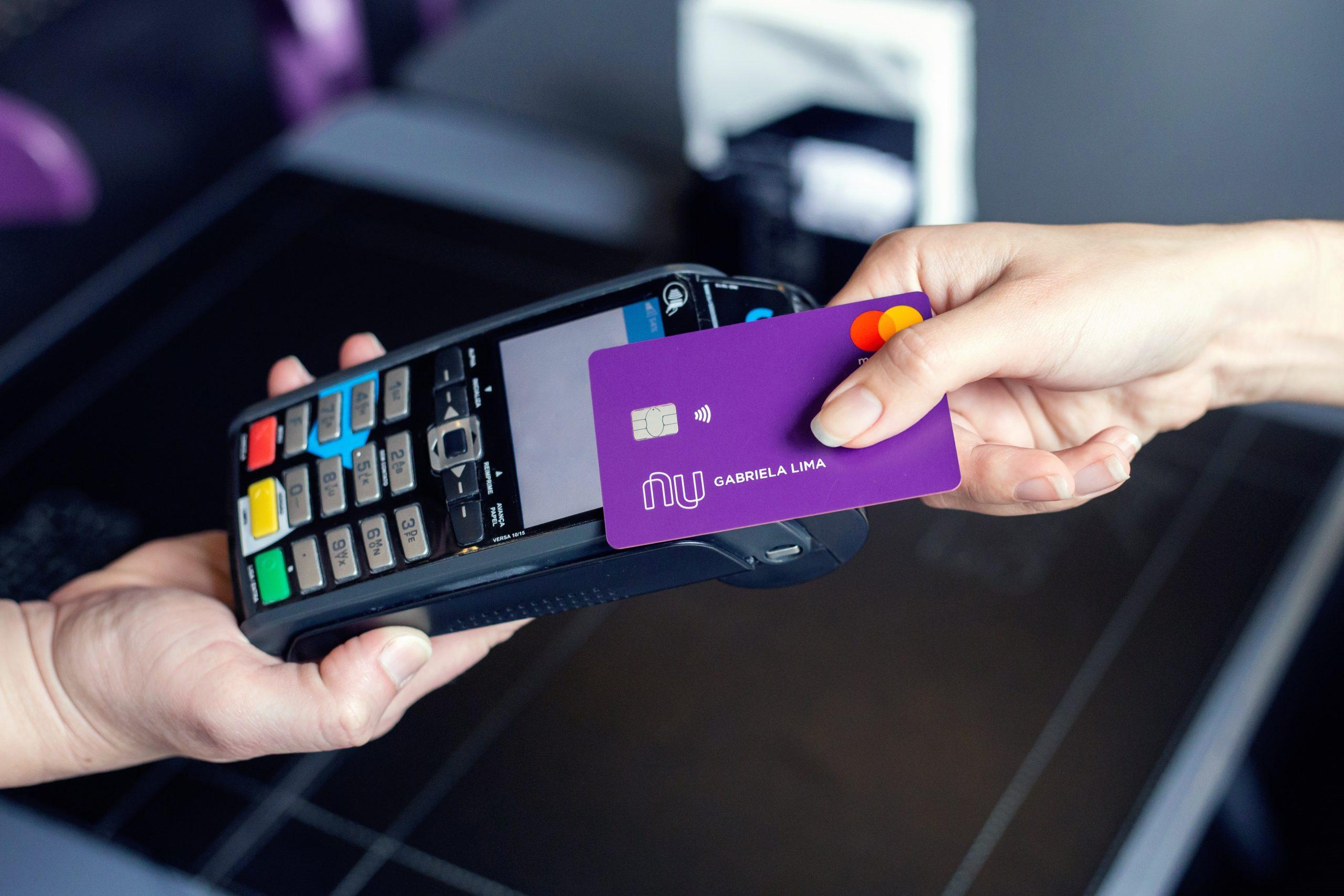 Nubank; pagamentos sem contato; NFC