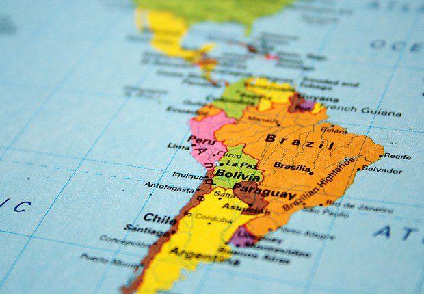América Latina; smartphones