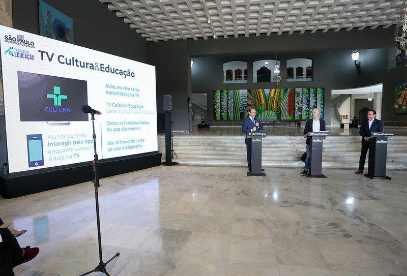 Dia: 03/04/2020 Local: São Paulo/SP Foto: Governo do Estado de São Paulo.
