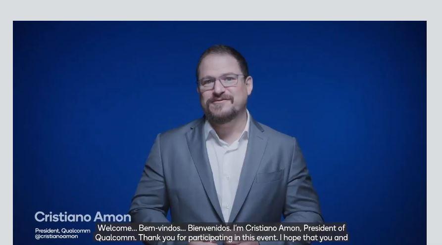 Cristiano Amon, presidente global da Qualcomm