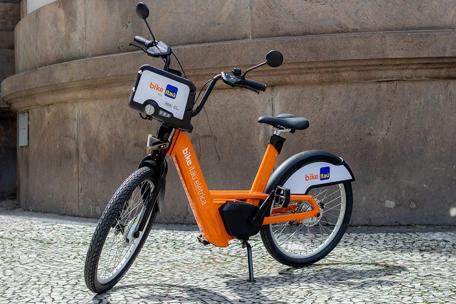 BIke Itaú; e-bike