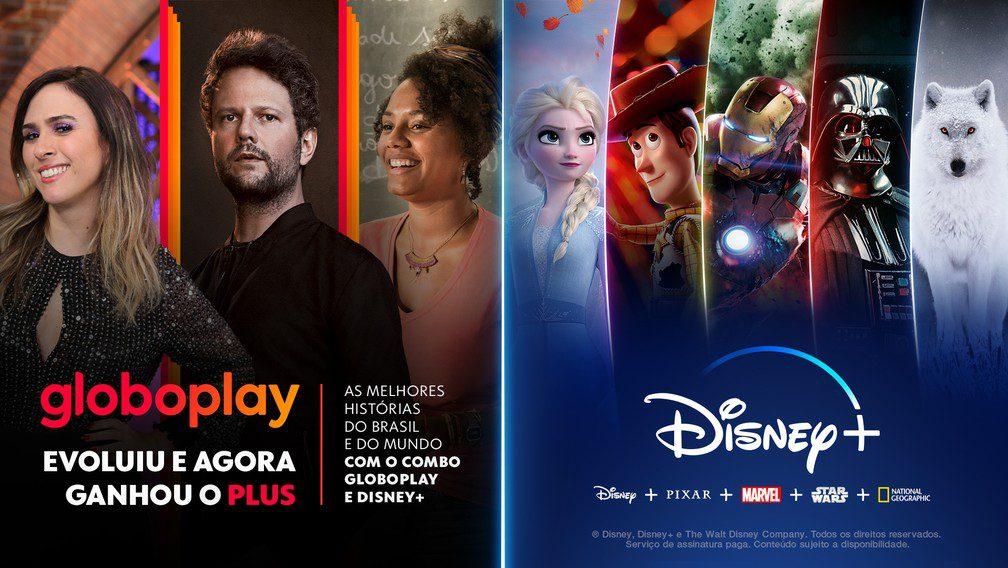 Globoplay, Disney+, Streaming