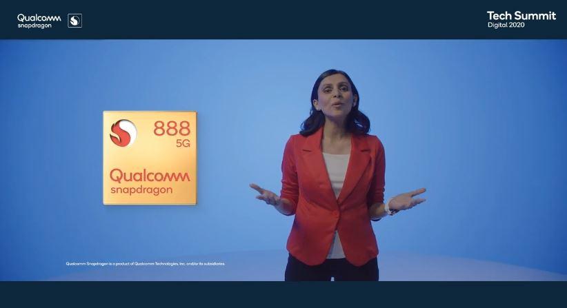 Apresentação do Snapdragon 888