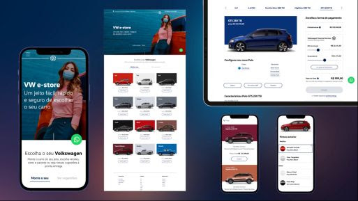 VW e-store; Volkswagen
