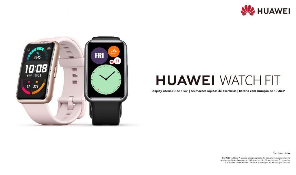 Smartwatch esportivo da Huawei