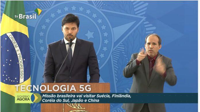 Fabio Faria; 5G; rede privativa